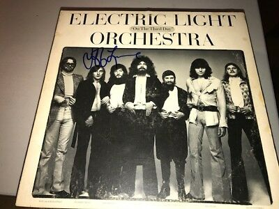 Jeff Lynne ELECTRIC LIGHT ORCHESTRA Signed Autographed ON THE THIRD DAY Album LP