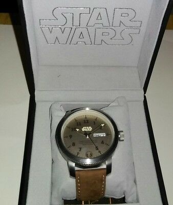 star wars limited edition watch