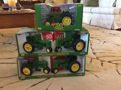 John Deere 40, 50, 60, 70, and 80  Anniversary collection