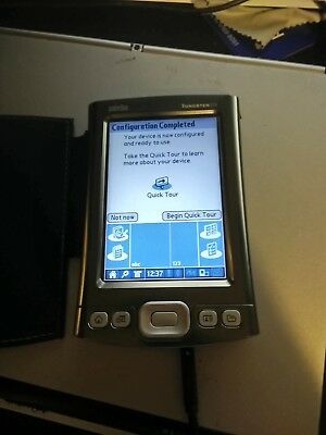 Palm Tungsten T5 boxed w/ stylus, software, wall charger & USB cables/chargers