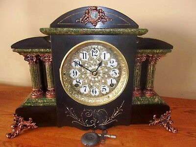 Seth Thomas Adamantine Mantel Clock