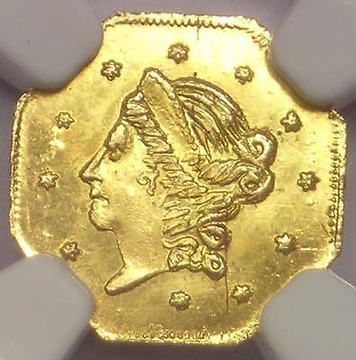 1859 Liberty California Gold Half Dollar 50C BG-902 R4: NGC Uncirculated (BU MS)