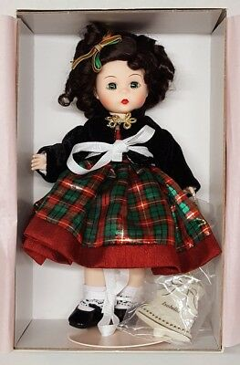 "Madame Alexander ""Chrisymas Tidings"" 8 Inch Doll - Style 50895 - Never Used"