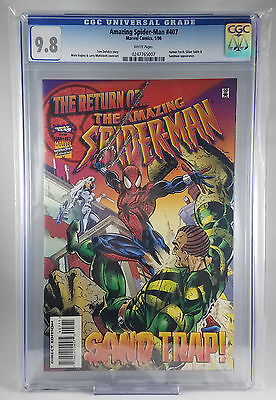 Amazing Spider-Man #407(1996) Marvel CGC 9.8 White Pages