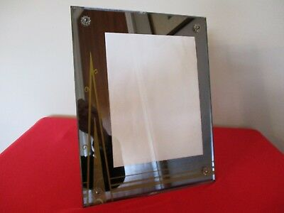 Antique/Vintage Art Deco Reverse Painted Picture Frame Easel Back 13X10