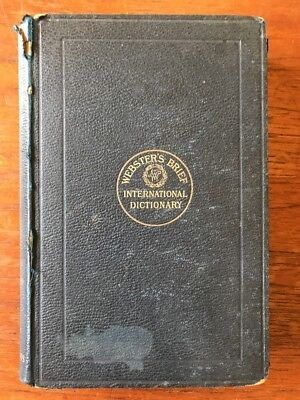 Websters Brief International Dictionary 1894