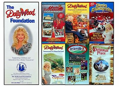 Dollywood - Dixie Stampede - Music Mansion - Brochures Collectable Memorabilia