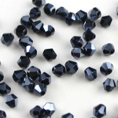 Free shipping  100pcs Austria Crystal 4mm 5301 Bicone Beads - Brand New