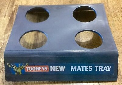 Tooheys New Mates Tray Beer Lager Bar Drink Holder Carry Tray Man Cave