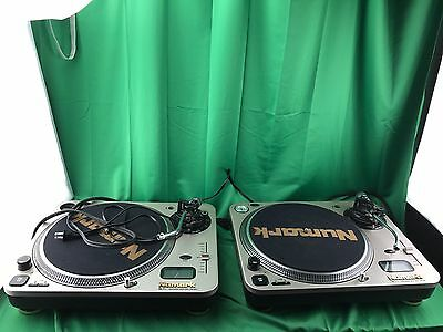 PAIR OF Numark Pro TT-1+ Professional Direct Drive Turntable!