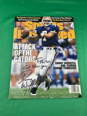 Danny Wuerffel Autographed Signed Sports Illustrated Florida Gators