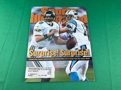 Kerry Collins Autographed Sports Illustrated Magazine - January 1997
