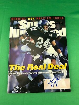 Darnell Autry Autographed Sports Illustrated Magazine - November 13th, 1995