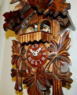 Musical Black Forest Germany cuckoo clock