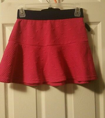 Cat And Jack 10/12 large Girls Skirt summer mini flare NEW PINK