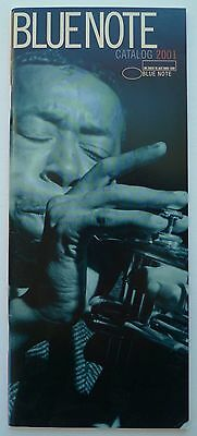 BLUE NOTE catalog 2001 - 39 pgs. - Jazz Records - Excellent condition