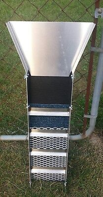 """Gold Sluice 31"""" Compact W/ Stainless Riffles, Prospecting, Gems, Dredge, Mining"""