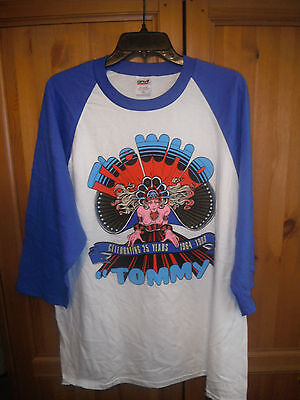 The Who Tommy Shirt Vintage 25 Years Anniversary NEW Size XXL 2XL