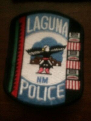 New Mexico Police - Laguna  Police  -  NM Police Patch