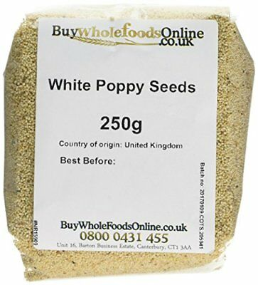 Buy Whole Foods Poppy Seeds White 250 g