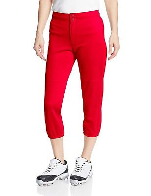 (X-Large, Scarlet) - Intensity Women's Low Rise Double Knit Pant