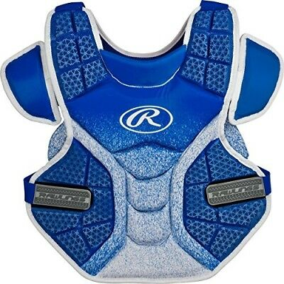 (Royal/White) - Rawlings Sporting Goods Softball Protective Velo Chest