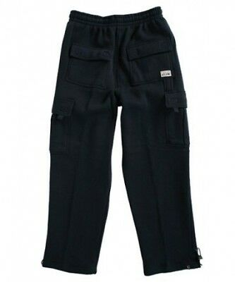 (5XL) - Pro Club Men's Fleece Cargo Pants Sweatpants - Navy. Shipping Included