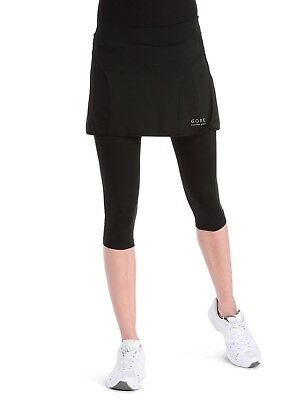 Gore Women's Air Lady 3/4 Skirt, Anthracite, XX-Large. Gore Running Wear