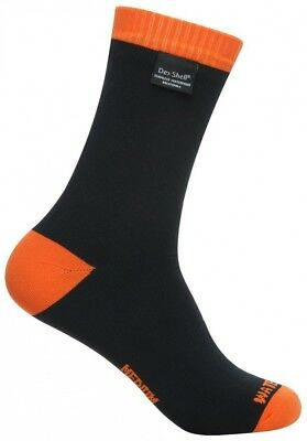 (Tangelo Red, Medium (UK 6-8)) - DexShell Thermlite Waterproof Socks