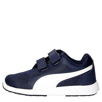 (24, blue - white) - Puma St Trainer Evo V Inf, Unisex Kids' Low-Top Sneakers