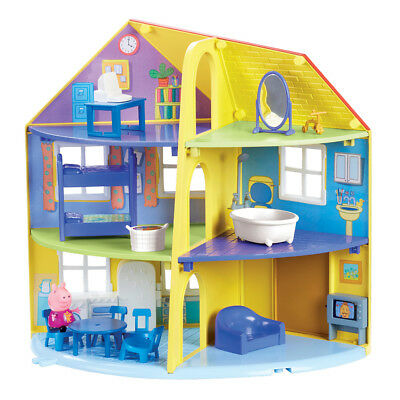 Peppa Pig's Family Home Playset, Kids Fun Interactive Toy