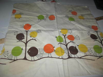 Vintage Fabric - 60s Chicks - 21 x 20