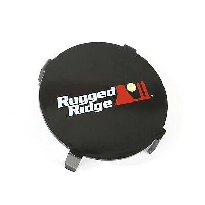 Rugged Ridge 15210.64 Rugged Ridge 15210.64 LED Light Cover - 3 Inch Round; Blac
