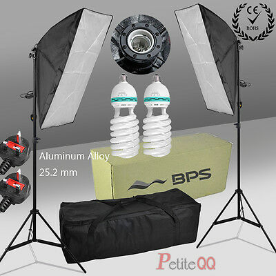 New 1250W Photo Soft Box Head Studio Softbox Continuous Lighting Light Stand Kit