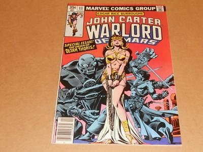 John Carter Warlord Of Mars 11 Marvel 1978 Nm Origin Dejah Thoris!
