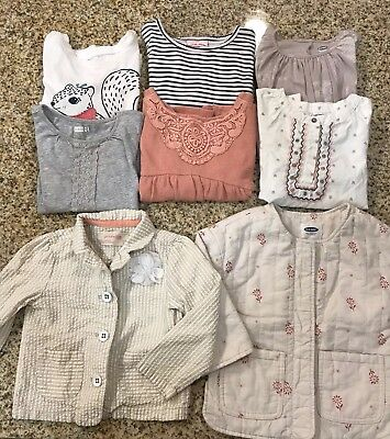 ❤️Lot Of 8 Girls Old Navy Tops & Jackets Size 3T Shirts Winter