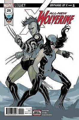 All New Wolverine #25 Legacy X-23 Orphans Of X  1St Print