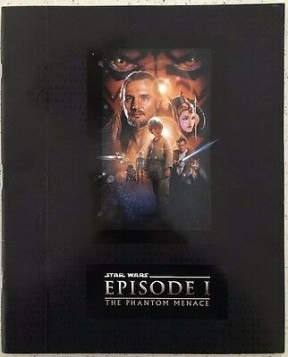 Star Wars Episode 1: The Phantom Menace program book