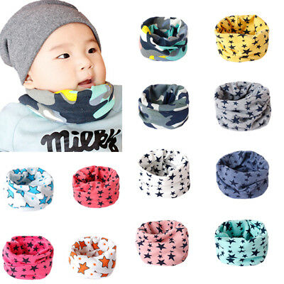 Toddler Baby Boy Girl Kids warm Scarf Collar Neckerchief Stylish Scarves Shawl