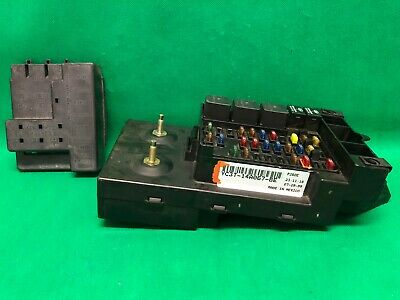 00 2000 ford excursion interior dash fuse box relay fusebox yc3t-14a067-be