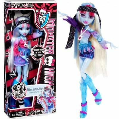 MONSTER HIGH festival music Abbey Bominable MATTEL