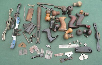 Assorted Stanley parts handles etc