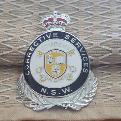 Nsw Corrective Services Student Badge