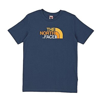 (X-Large, Blue/Shady Blue) - The North Face Children's Easy T-Shirt