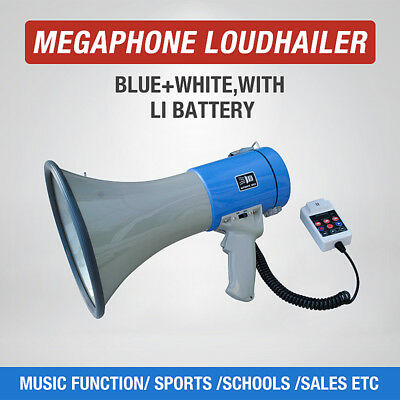 Megaphone with Rechargeable Recordable Battery 20W - 25W