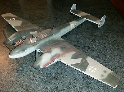 Model German WWII Me110 night fighter in 1/24th scale? Project kit.