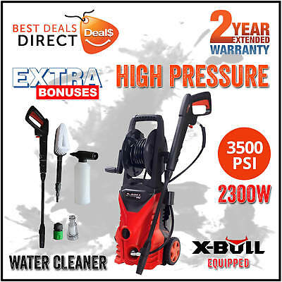 NEW X-BULL 3500 Psi High Pressure Water Washer Cleaner Electric Gurney Pump Hose