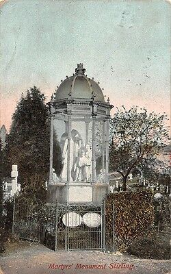 Martyrs' Monument Stirling 1905