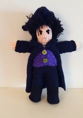 Ross POLDARK hand knitted collector's doll LIMITED EDITION in HALLOWEEN theme.