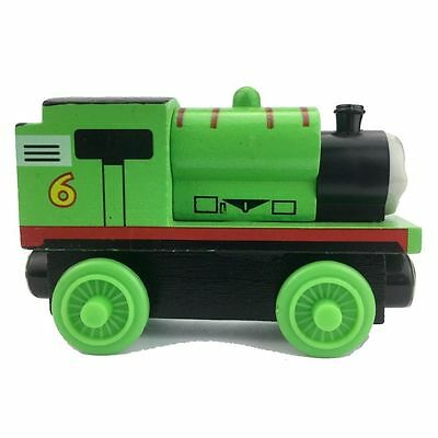 percy Thomas & Friend Wooden Magnetic Tank Engine Railway baby mini train pp
